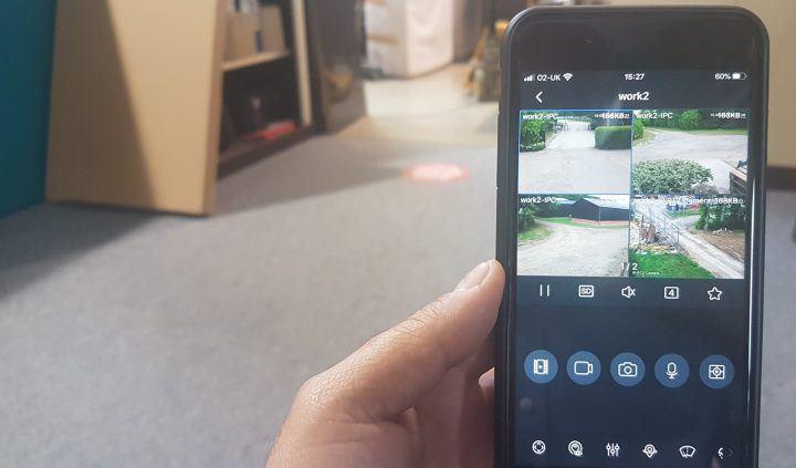 CCTV Alerts On Phone